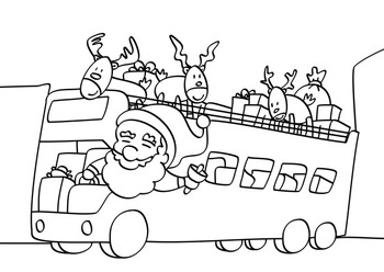 Riding with Santa Claus (Package)