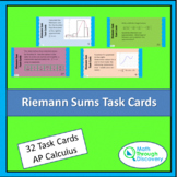 Riemann Sum Task Cards