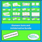 Calculus - Riemann Sum and Antiderivative Bundle