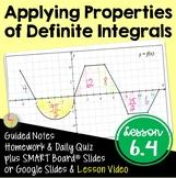 Properties of Definite Integrals (Calculus - Unit 4)
