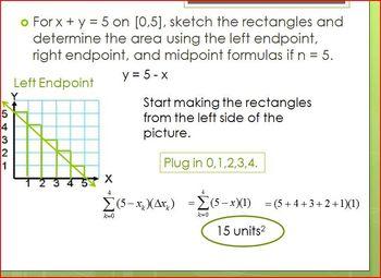 Riemann Sums (PP)