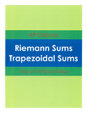 Riemann Sums & Trapezoidal Sums for AP Calculus