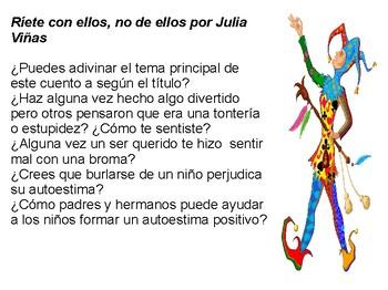 Ríete con ellos, no de ellos por Julia Viñas (PPT)