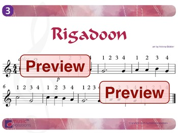 Rigadoon Flute And Oboe MP3 And PDF Unit 3.