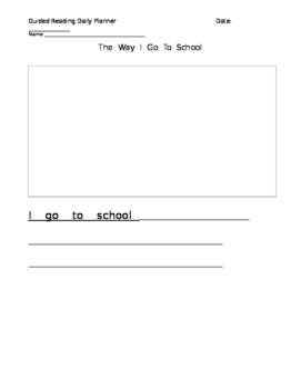 Rigby Guided Reading: The Way I Go To School