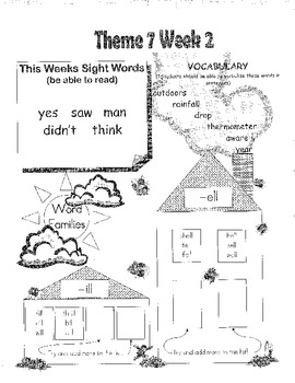 Rigby Literacy By Design Voc & Sight Words Theme 5-8