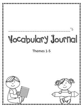 Rigby Literacy By Design Vocabulary Journal (Theme 1-5)