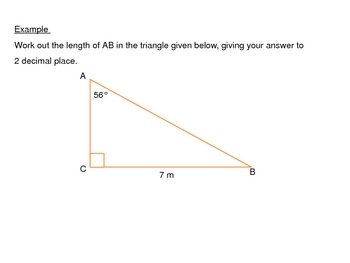 Right Angled Trigonometry power points