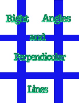 Right Angles and Perpendicular Lines