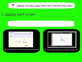 Right Angles and Triangles