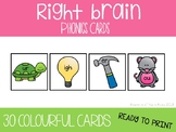 Right Brain Phonics Cards