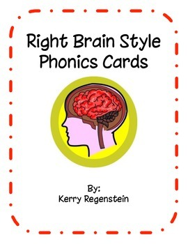 Right-Brain Style Phonics Cards