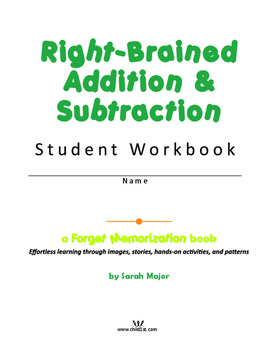 Right-Brained Addition & Subtraction Student Workbook