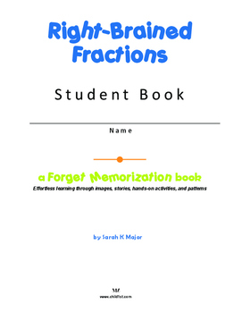 Right-Brained Fractions Student Workbook