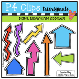 Right Direction Arrows (P4Clips Trioriginals) ARROW CLIPART