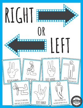 Right Left Discrimination Games and Movements