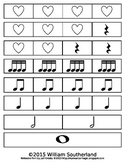 Rhythm and Meter Manipulative Cut Outs