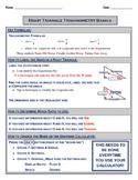 Right Triangle Basics - Notes with KEY