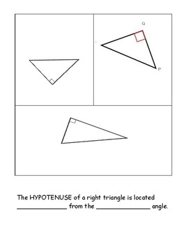 Right Triangle Labeling