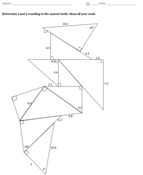 Right Triangle Puzzle