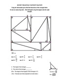 Right Triangle Trig Puzzler