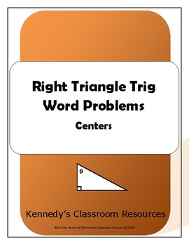 Right Triangle Trigonometry - Centers