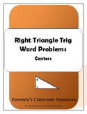 Right Triangle Trigonometry - Centers