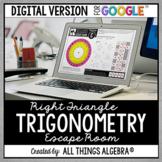 Right Triangle Trigonometry Escape Activity: DIGITAL VERSI