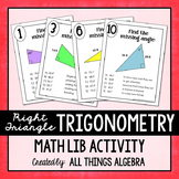 Right Triangle Trigonometry Math Lib