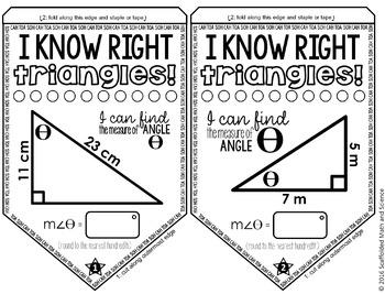 Right Triangle Trigonometry Pennant