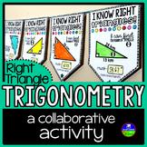Right Triangle Trigonometry Math Pennant Activity