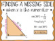 Right Triangle Posters (Word Wall)