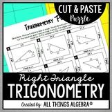 Right Triangle Trigonometry Puzzle