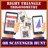 Right Triangle Trigonometry QR Scavenger Hunt