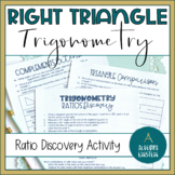Right Triangle Trigonometry Ratio Discovery Activity