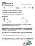 Right Triangle Trigonometry Review #2