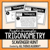 Right Triangle Trigonometry Scavenger Hunt