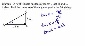 Right Triangle Trigonometry - Sine, Cosine, Tangent (SCORM)
