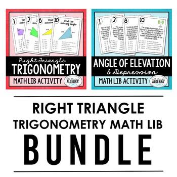 Trigonometry (Skills and Applications) Math Lib Bundle