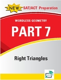 Right Triangles - 8 pages 42 questions