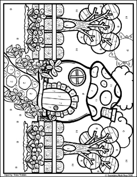 Angles coloring pages ~ Trigonometry - Angles of Elevation & Depression Color-By ...
