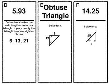 Right Triangles Loop