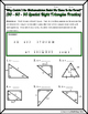 Right Triangles (Special)- 30  60 90 Riddle Practice Worksheet