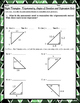 Right Triangles: Trigonometry, Angles of Elevation and Dep