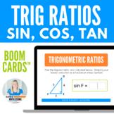 Right Triangles Trigonometry Boom Cards - Sin, Cos, Tan