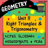 Right Triangles & Trigonometry (Geometry - Unit 11)