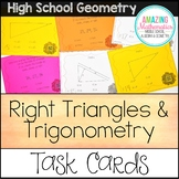 Right Triangles & Trigonometry Task Cards
