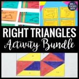 Right Triangles Activity Bundle