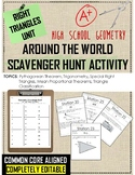 Right Triangles Unit Station Activity / Scavenger Hunt