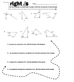 Right Triangles VALUE PACK